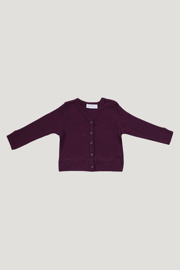 Jamie Kay - Cotton Modal Cardigan - Fig