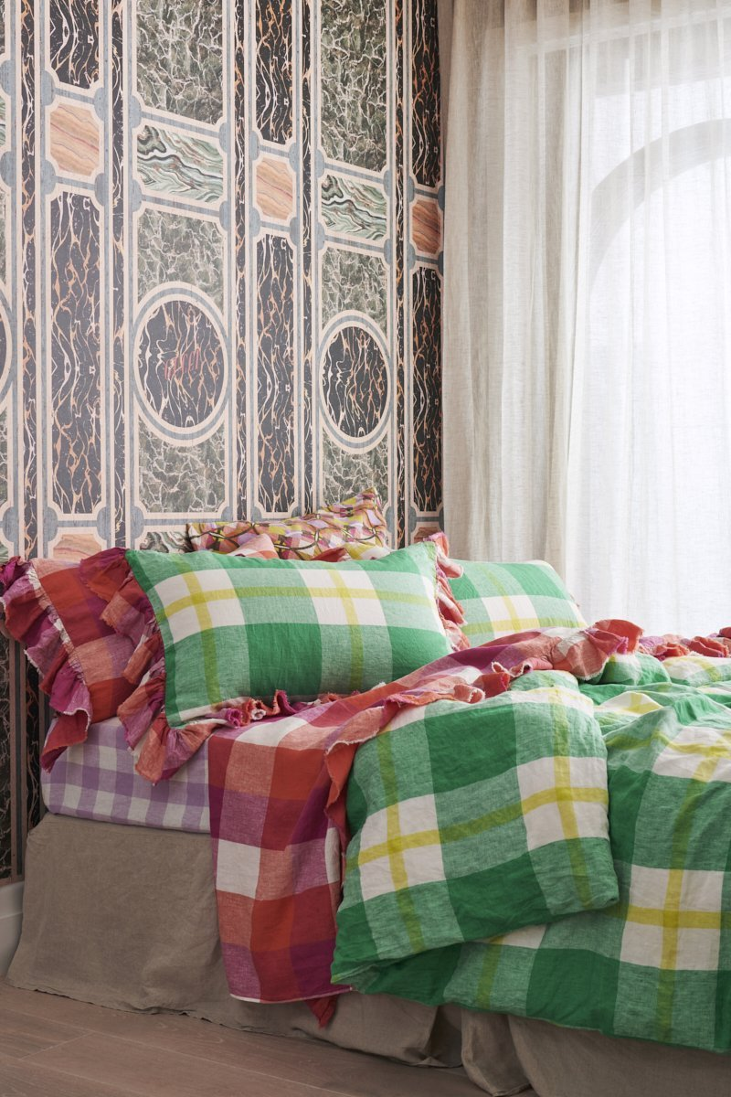 Society of Wanderers - Zest Check Duvet Cover - King - PREORDER