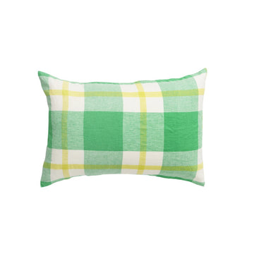 Society of Wanderers - Zest Check Pillowcase Set - Standard - PREORDER