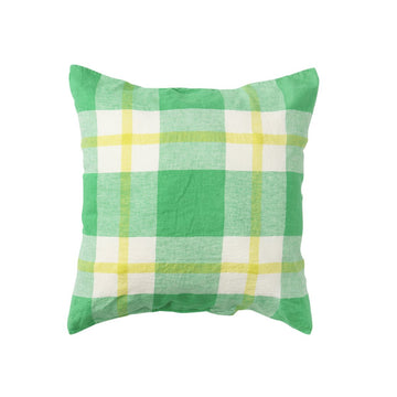 Society of Wanderers - Zest Check Pillowcase Set - Euro - PREORDER
