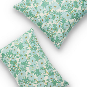 Society of Wanderers - Joan Floral European Pillowcase Set