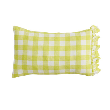 Society of Wanderers - PREORDER - Pillowcase Set with Ruffle - Limoncello
