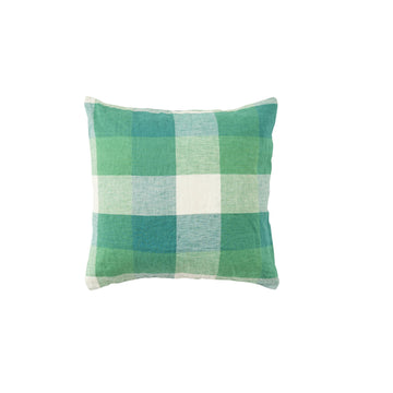 Society Of Wanderers - Cushion Cover With Insert - Apple Check