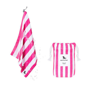 Dock & Bay - Quick Cool Towel - Cooling Towel - Phi Phi Pink