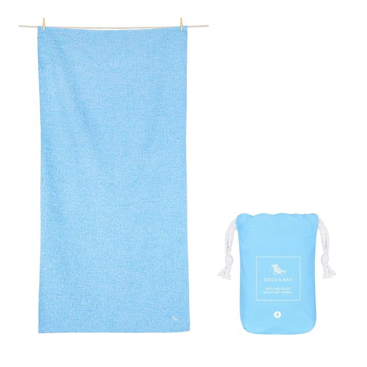 Dock & Bay - QUICK DRY TOWEL - ESSENTIAL COLLECTION - Lagoon Blue - XL