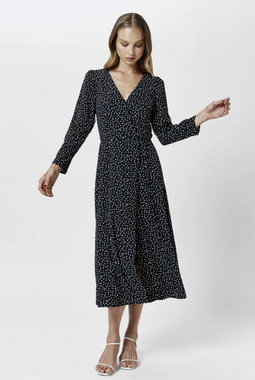 MVN The Label - Marabella Wrap Dress