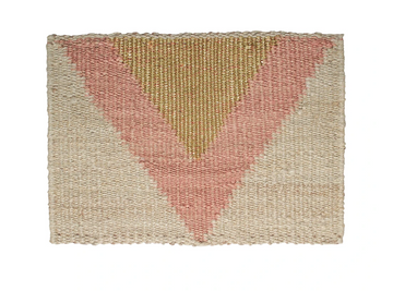 Langdon - Arrow Doormat- Gold