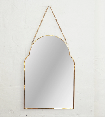 Inartisan - Audre Arch Brass Mirror
