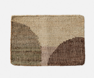 Citta - Piha Woven Placemat -  Pickle/Multi