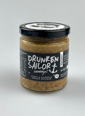 Drunken Sailor - Stout & Chipotle Mustard 260g
