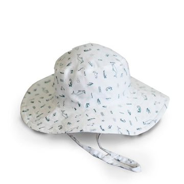 Burrow & Be - Under the Sea Sun Hat