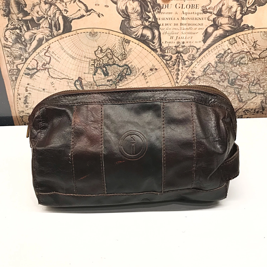 Indepal - WATSON - LEATHER TOILETRY BAG