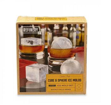 Refinery & Co - Ice Molds - Cubes & Spheres