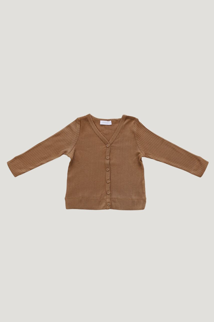 Jamie Kay - Cotton Modal Cardigan - Bronze
