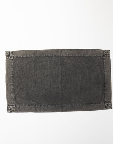 Atolyia - Vintage Wash Bathmat - Charcoal