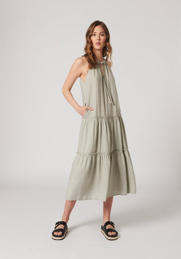 MVN The Label - Waldon Dress - Sage