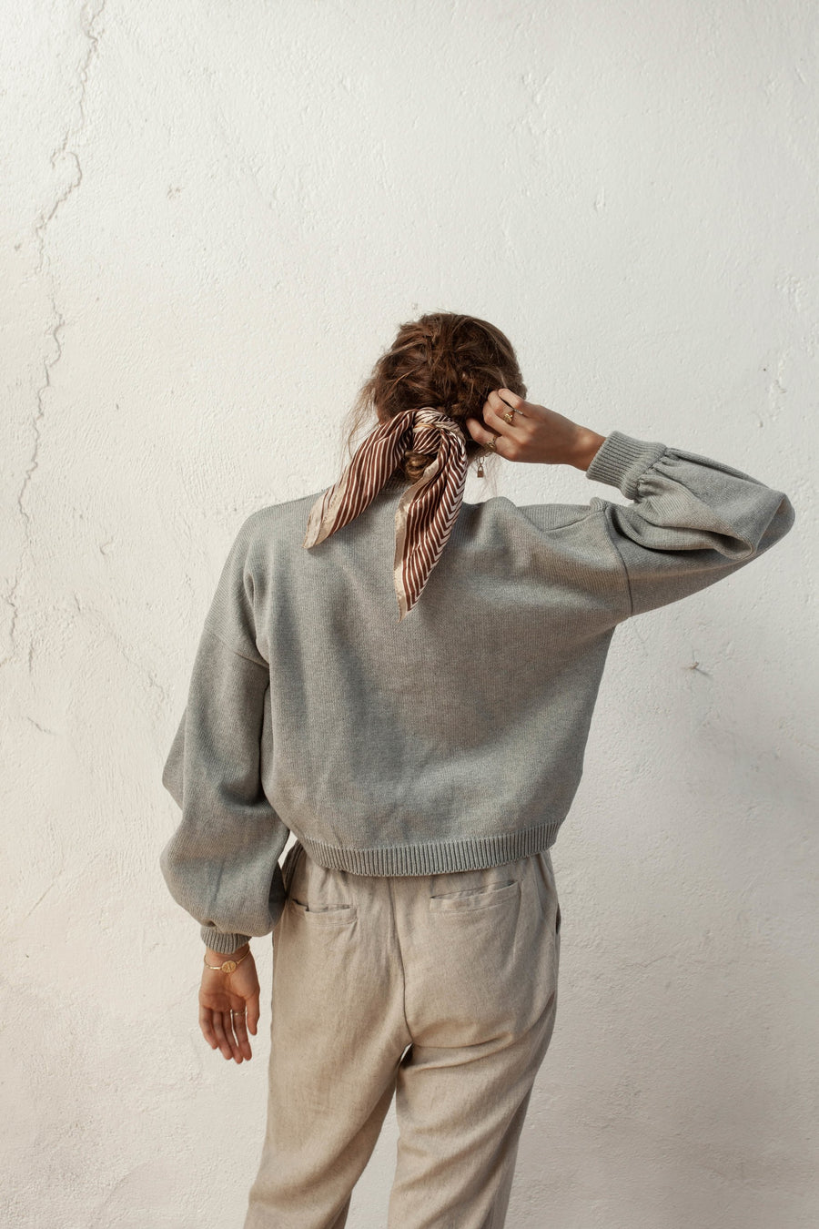 Bird & Kite - Salvador Jumper - Silver