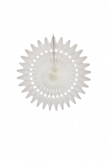 Acorn Trading Co - Fan Feather 45cm - White