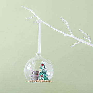 Down To The Woods - Heirloom Christmas Dome