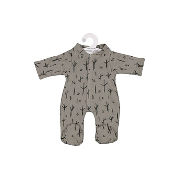 Burrow & Be - Steel Sticks 7 Stones Romper for 38cm Doll