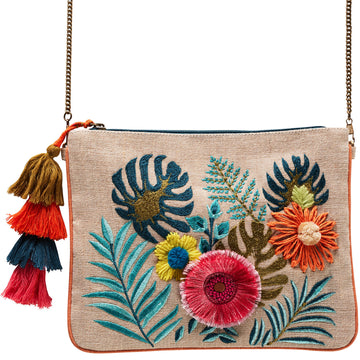 Canvas + Sasson - Bohemia Garden Party Clutch