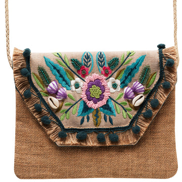 Canvas + Sasson - Bohemia Summerfest Clutch