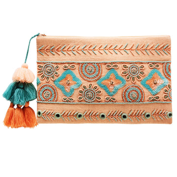 Canvas & Sasson - BASQUE PARTY TIME CLUTCH