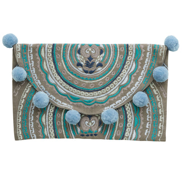 Canvas & Sasson - LONG ISLAND GUILD CLUTCH
