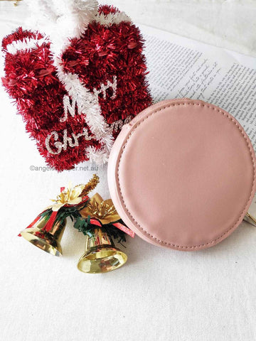 Angels Whisper - Round Coin Bag
