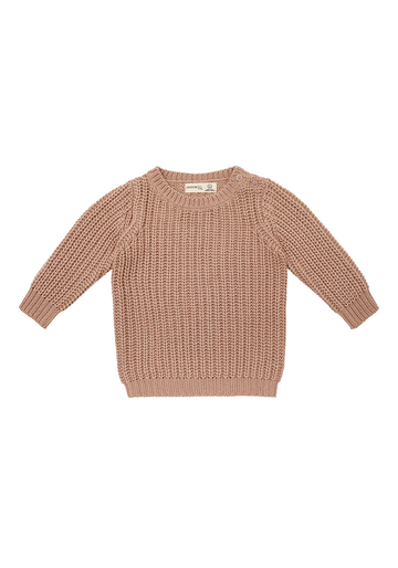 Miann & Co - Kids Rib Knit Jumper - Praline