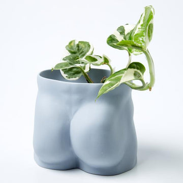 Jones & Co - TUSH PLANTER BLUE