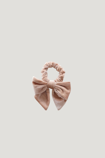Jamie Kay - Aela Velvet Hair Tie - Cloud