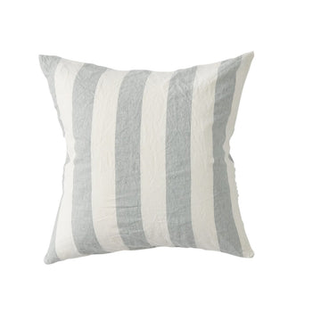 Society of Wanderers - Cushion Cover with Insert - Fog Stripe