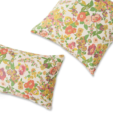 Society of Wanderers - Marianne Floral Standard Pillowcase - PRE ORDER