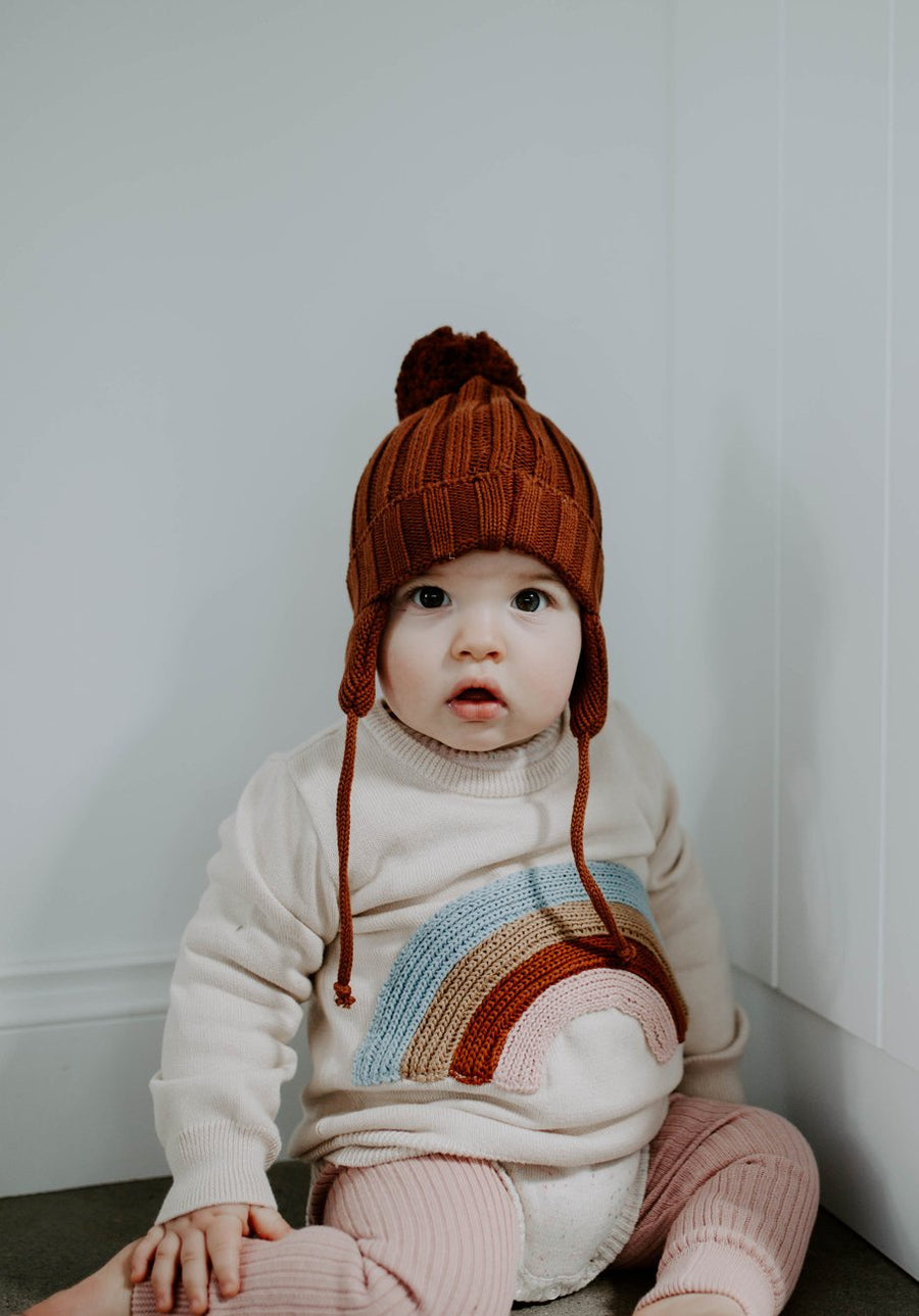 Miann & Co - Knit Jumper Baby - Rainbow
