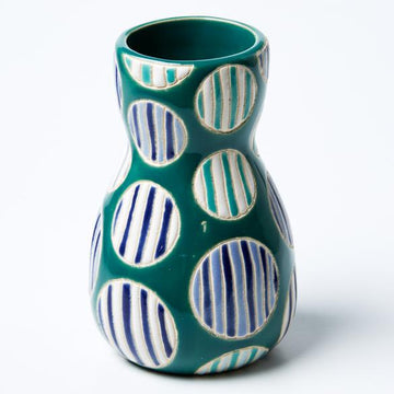 Jones & Co - Saturday Vase Blue Spot