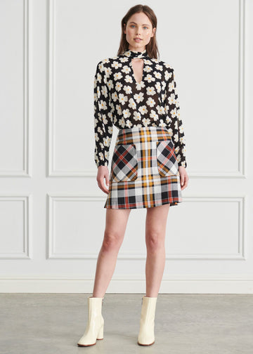 Apartment Clothing - Edie Mini Skirt - Edie Check