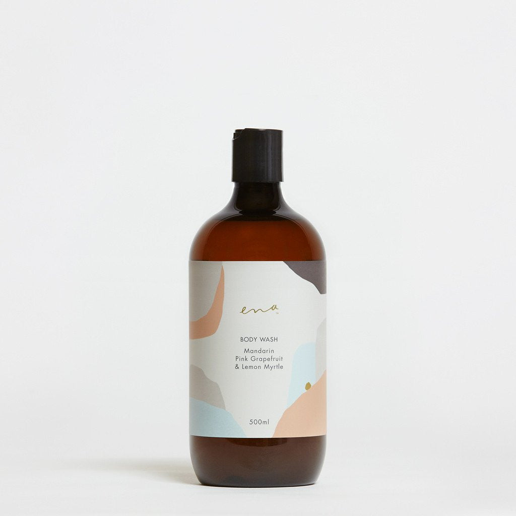 Ena Products - Body Wash - Mandarin, Pink Grapefruit & Lemon Myrtle 500ml