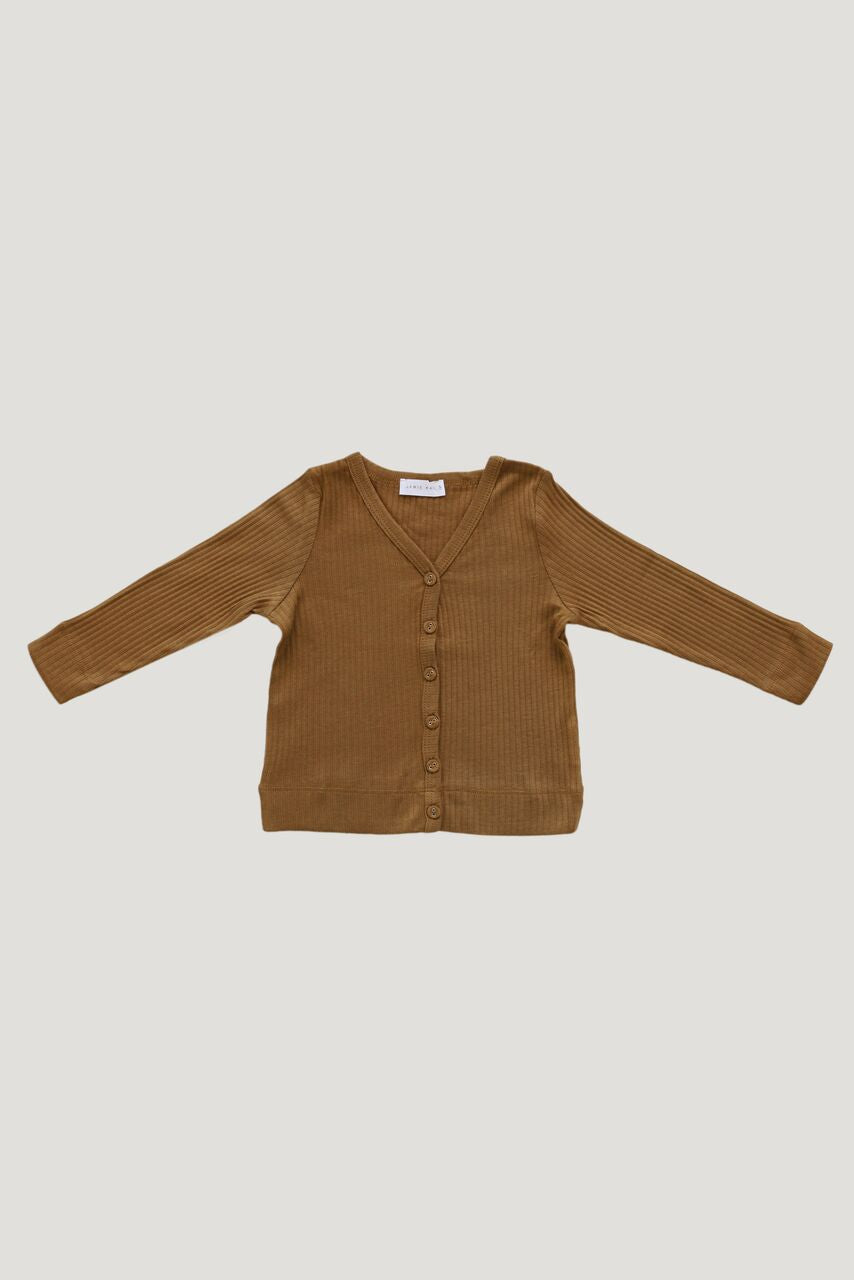 Jamie Kay - Cotton Modal Cardigan - Golden