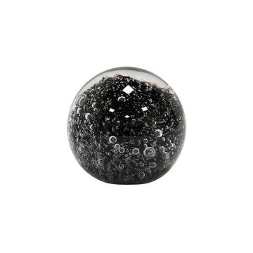HK Living - Glass Sculpture Black Orbs/paper weight