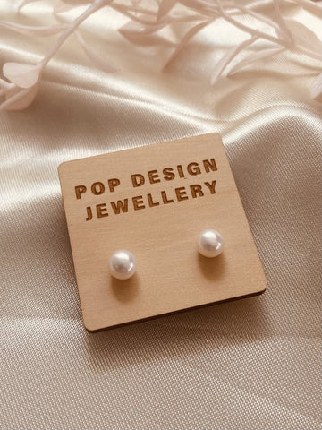 Pop Design - Fresh Pearl Earrings - Mia