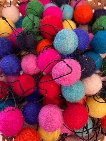 Down To The Woods - Assorted Felt Balls