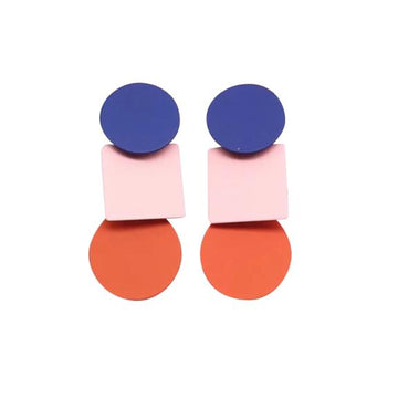 Greenwood Designs - Navy,Pink and orange Bling