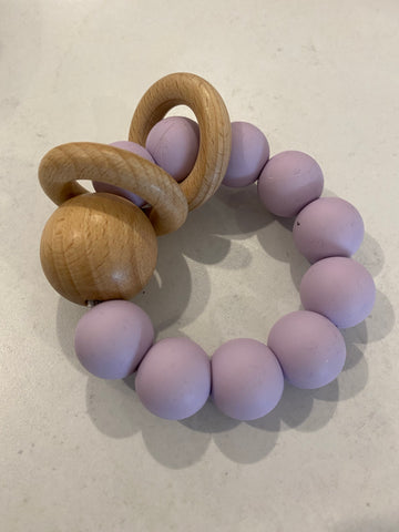 My Little Giggles - Ring Teether - Lilac