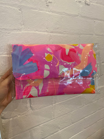 Poppy Lane Designs - Large Clutch - Calipso