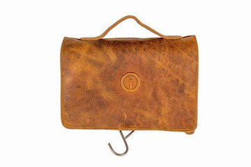 Indepal - Rockliff - Fold-Out Toiletry Bag - Dusty Antique