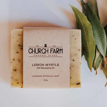 Church Farm - Handmade Soap - Lemon Myrtle