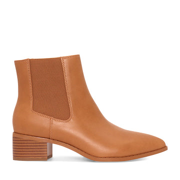 A:List Footwear - Lori Boots - Tan