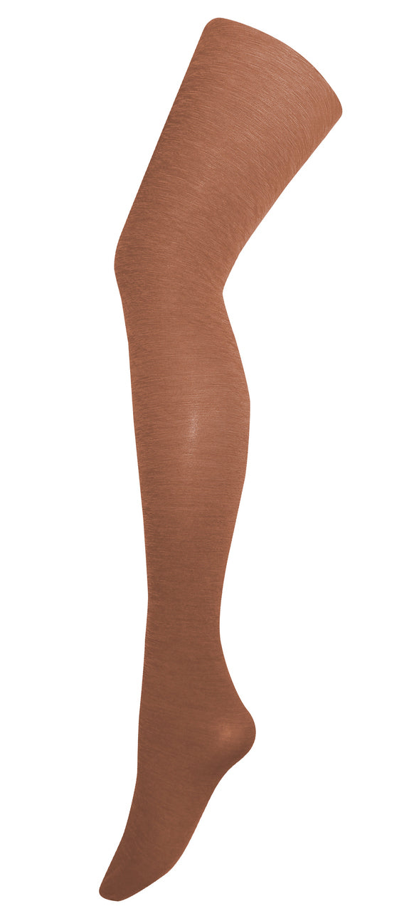 Tightology - 'LUXE' WOOL TIGHTS - Toffee