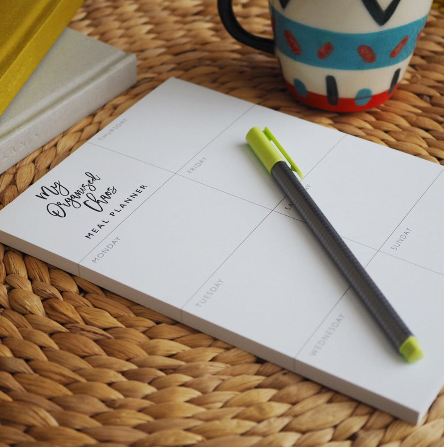 Write to Me - Meal Planner